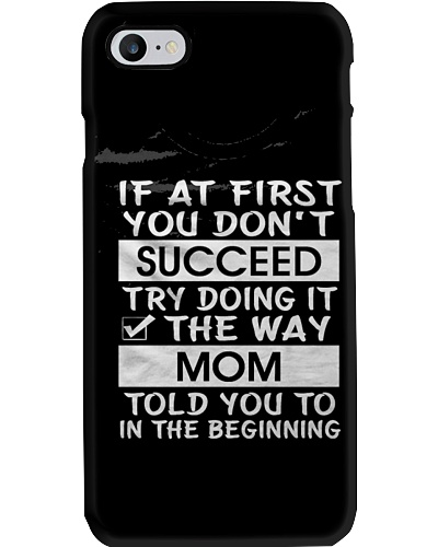 If at first you dont succeed - For Mothers Day