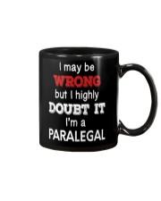 Paralegal I May Be Wrong Job Gift Mug thumbnail