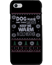 Dog Lovers Ugly Christmas Sweater Phone Case thumbnail