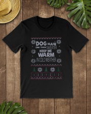 Dog Lovers Ugly Christmas Sweater Classic T-Shirt lifestyle-mens-crewneck-front-18