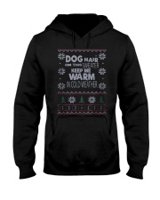 Dog Lovers Ugly Christmas Sweater Hooded Sweatshirt thumbnail