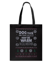 Dog Lovers Ugly Christmas Sweater Tote Bag thumbnail