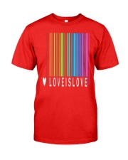 Love is Love - Camiseta LGBT Pride 39 Classic T-Shirt front