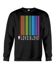 Love is Love - Camiseta LGBT Pride 39 Crewneck Sweatshirt thumbnail