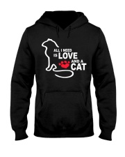 ALL YOU NEED IS LOVE Hooded Sweatshirt front