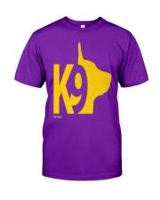 DM WEAR K9 shepherd dog handler Classic T-Shirt front