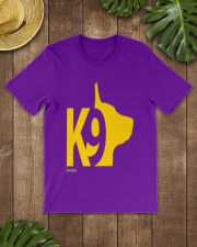 DM WEAR K9 shepherd dog handler Classic T-Shirt lifestyle-mens-crewneck-front-18