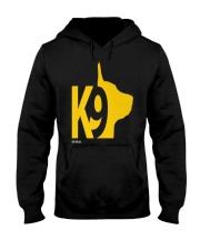 DM WEAR K9 shepherd dog handler Hooded Sweatshirt thumbnail