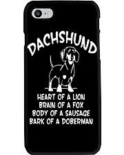 Dachshund Doxie Wiener Dog Phone Case thumbnail