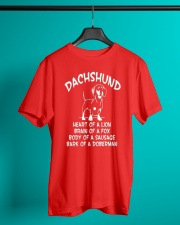 Dachshund Doxie Wiener Dog Classic T-Shirt lifestyle-mens-crewneck-front-3