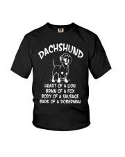 Dachshund Doxie Wiener Dog Youth T-Shirt thumbnail