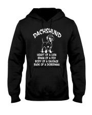 Dachshund Doxie Wiener Dog Hooded Sweatshirt thumbnail