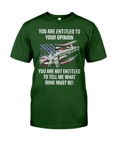 PATRIOTIC - You are entitled M 0043