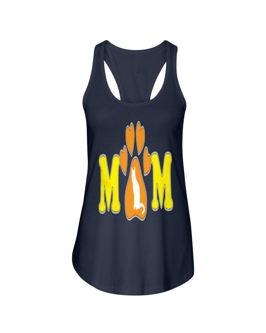 MOTHERS DAY CAT MOM SHIRT WOMEN MEN KID Ladies Flowy Tank