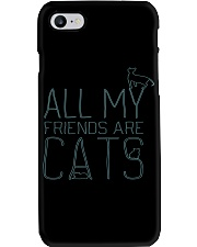 All My Friends Are Cats Phone Case thumbnail