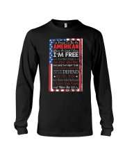 Happy 4th of July - I'm Proud To Be An American Long Sleeve Tee tile
