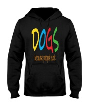 Dogs - because people suck Hooded Sweatshirt thumbnail