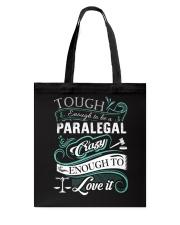Paralegal- Limited Edition 3 Tote Bag thumbnail