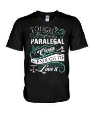 Paralegal- Limited Edition 3 V-Neck T-Shirt thumbnail