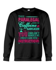 PARALEGAL- You Couldnt Handle Me Crewneck Sweatshirt thumbnail
