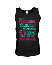 PARALEGAL- You Couldnt Handle Me Unisex Tank thumbnail