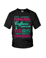 PARALEGAL- You Couldnt Handle Me Youth T-Shirt thumbnail
