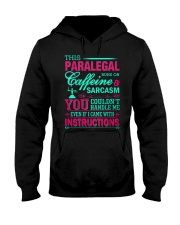 PARALEGAL- You Couldnt Handle Me Hooded Sweatshirt thumbnail