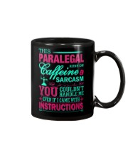 PARALEGAL- You Couldnt Handle Me Mug tile