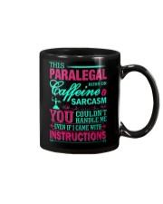 PARALEGAL- You Couldnt Handle Me Mug thumbnail