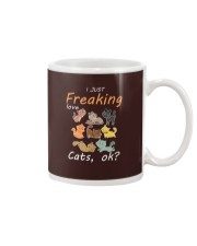 I Just Freaking Love Cats OK Cat Mug thumbnail