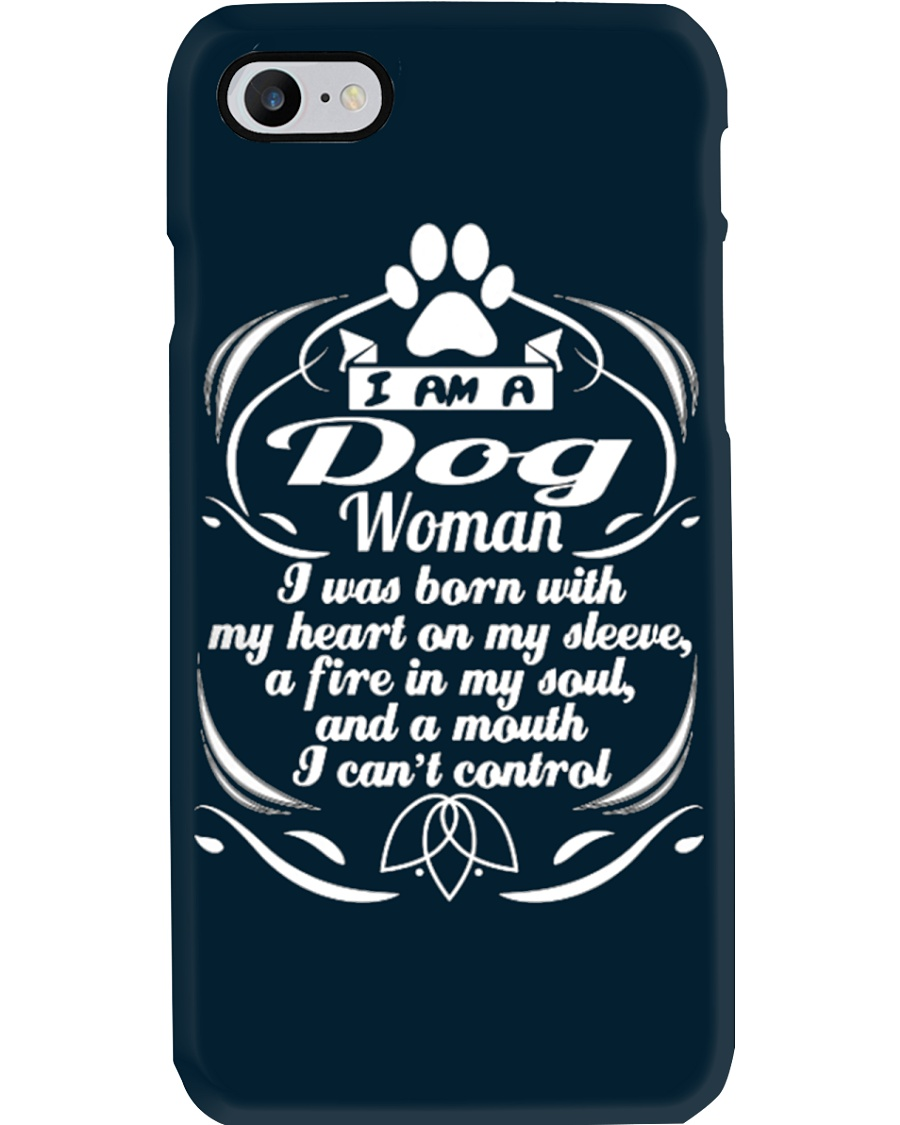 DOG WOMAN 1 Phone Case