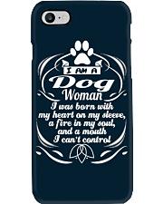 DOG WOMAN 1 Phone Case i-phone-7-case
