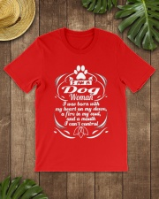 DOG WOMAN 1 Classic T-Shirt thumbnail