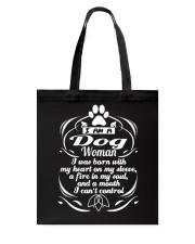 DOG WOMAN 1 Tote Bag thumbnail
