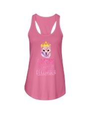 December Queens Cat Are Born In  Ladies Flowy Tank front