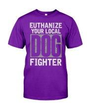 End Dog Fighting Ts and More Classic T-Shirt front