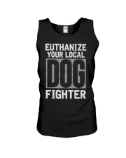 End Dog Fighting Ts and More Unisex Tank thumbnail