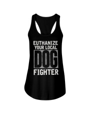 End Dog Fighting Ts and More Ladies Flowy Tank thumbnail