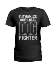 End Dog Fighting Ts and More Ladies T-Shirt thumbnail