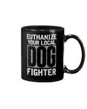 End Dog Fighting Ts and More Mug thumbnail