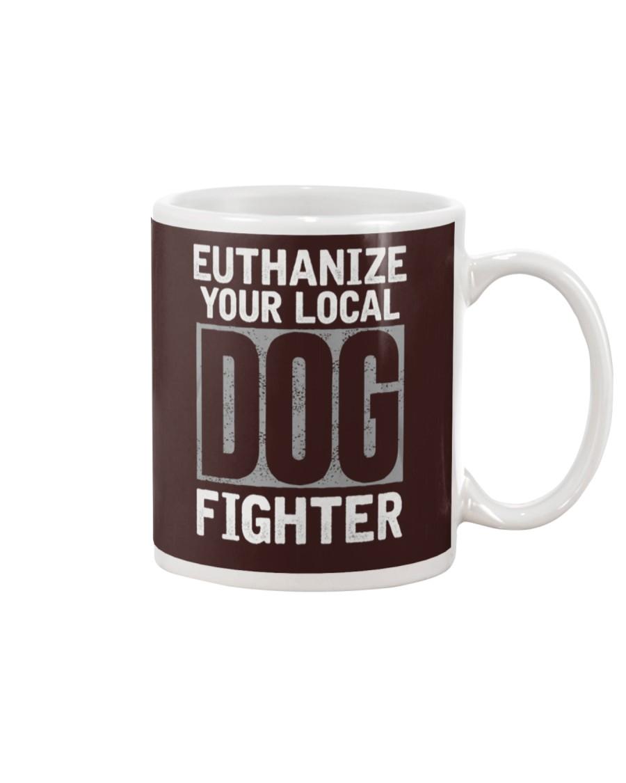 End Dog Fighting Ts and More Mug