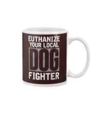 End Dog Fighting Ts and More Mug front