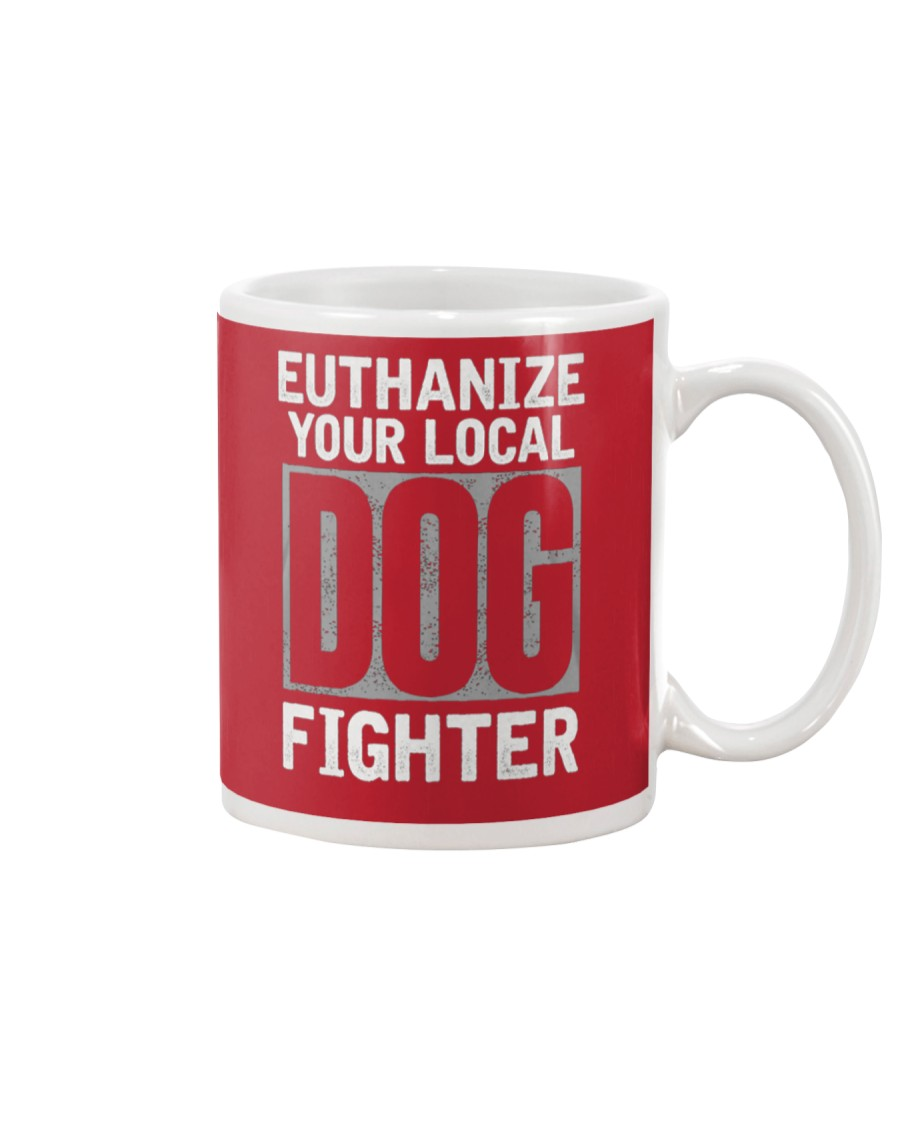 End Dog Fighting Ts and More Mug