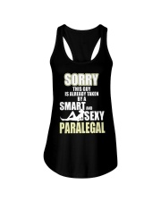 SORRY SEXY PARALEGAL Ladies Flowy Tank tile