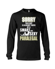 SORRY SEXY PARALEGAL Long Sleeve Tee thumbnail
