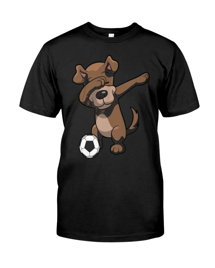 Dabbing Dog Soccer Dab Shirt Classic T-Shirt