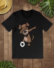 Dabbing Dog Soccer Dab Shirt Classic T-Shirt lifestyle-mens-crewneck-front-18