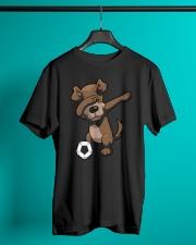 Dabbing Dog Soccer Dab Shirt Classic T-Shirt lifestyle-mens-crewneck-front-3