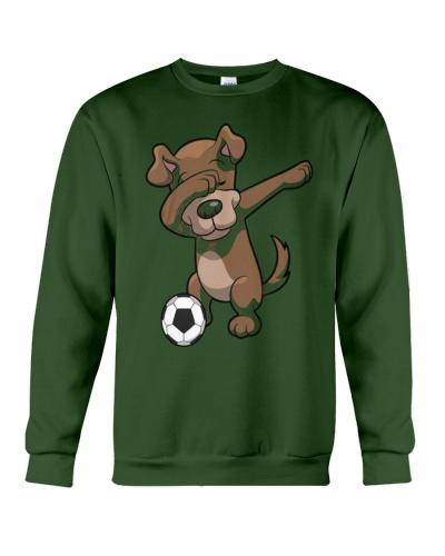 Dabbing Dog Soccer Dab Shirt