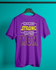HAPPY MOMS DAY MOTHERS DAY SHIRT Classic T-Shirt lifestyle-mens-crewneck-front-3